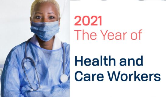 Community health workers must be better supported in 2021, the Year of the Healthcare Worker